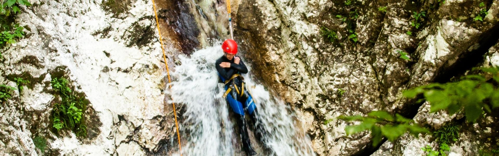 canyoning soča